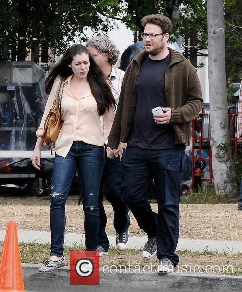 Seth Rogen and Lauren Miller 12