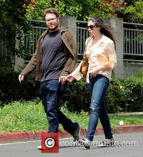 Seth Rogen and Lauren Miller 13
