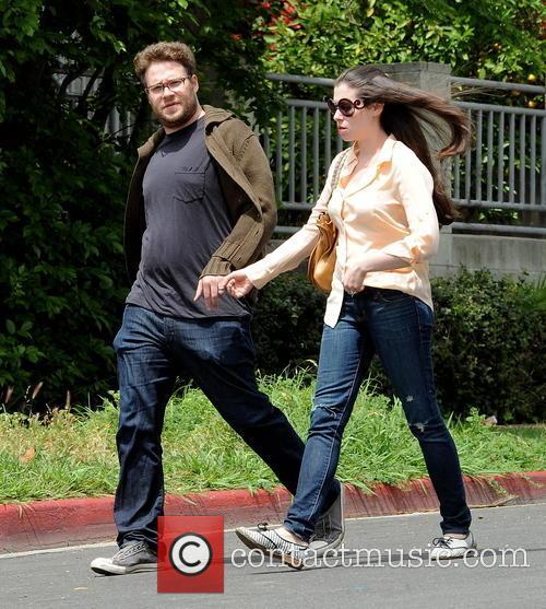 Seth Rogen and Lauren Miller 14