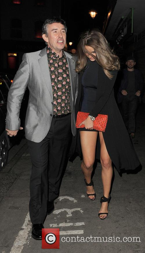 Steve Coogan and Elle Basey 4