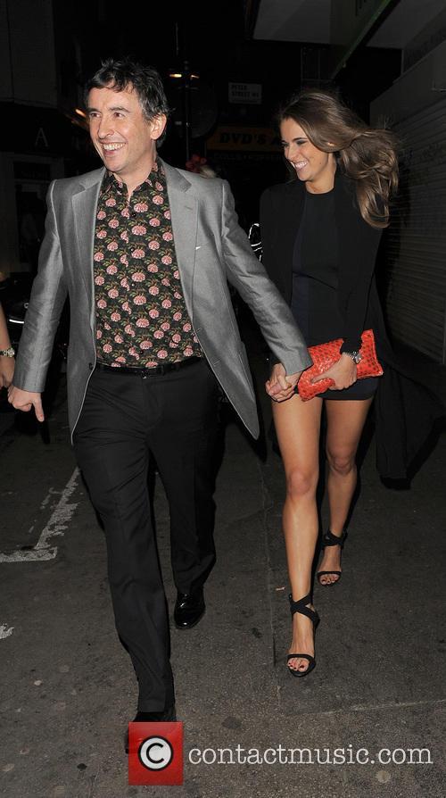 Steve Coogan and Elle Basey 6