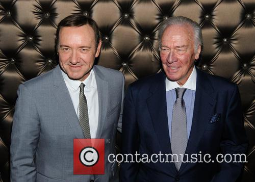 Kevin Spacey and Christopher Plummer 5