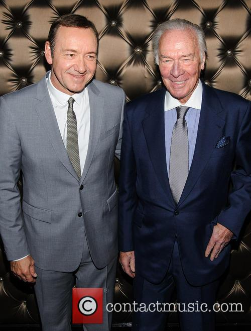 Kevin Spacey and Christopher Plummer 6