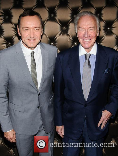 Kevin Spacey and Christopher Plummer 8
