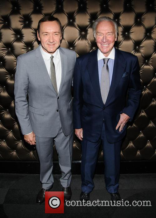 Kevin Spacey and Christopher Plummer 10