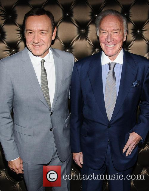 Kevin Spacey and Christopher Plummer 11