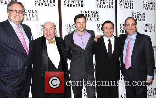 Douglas Carter Beane, Jack O'brien, Jonny Orsini, Nathan Lane and Lewis J. Stadlen 3
