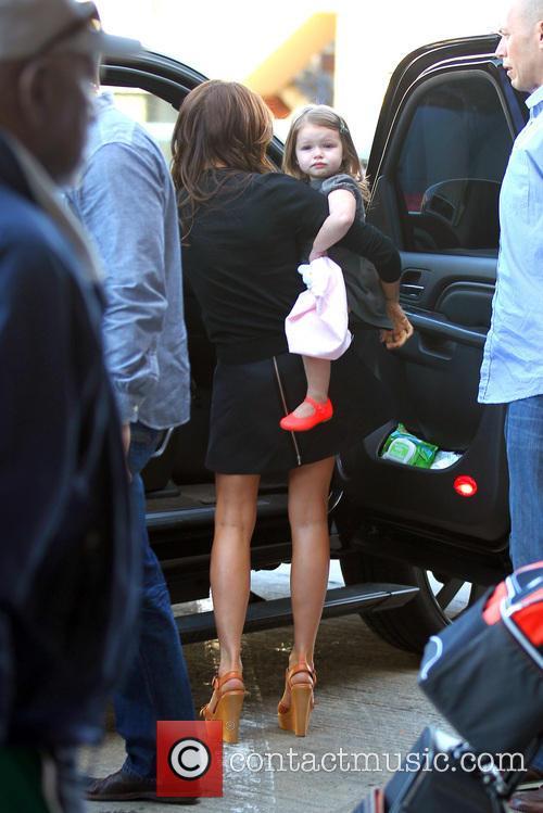 Victoria Beckham and Harper Seven Beckham 10