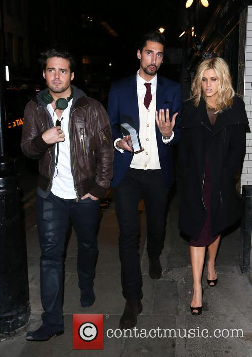 Spencer Matthews, Hugo Taylor and Ashley Roberts 3