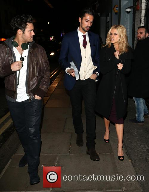 Spencer Matthews, Hugo Taylor and Ashley Roberts 4