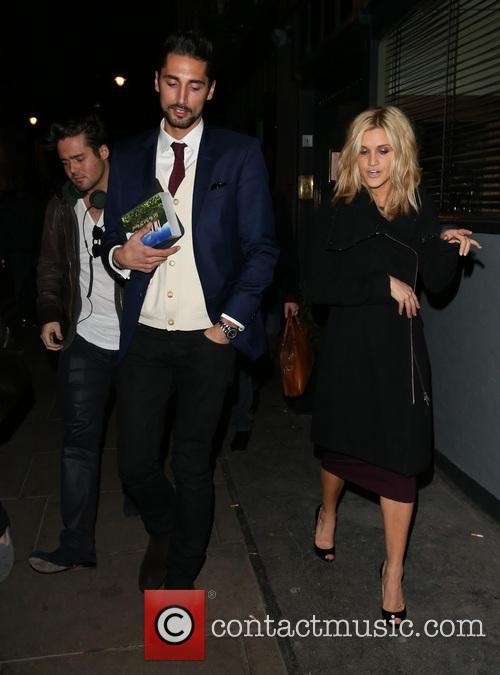 Spencer Matthews, Hugo Taylor and Ashley Roberts 6