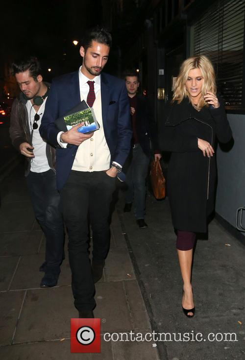 Spencer Matthews, Hugo Taylor and Ashley Roberts 7