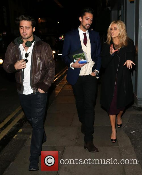 Spencer Matthews, Hugo Taylor and Ashley Roberts 8