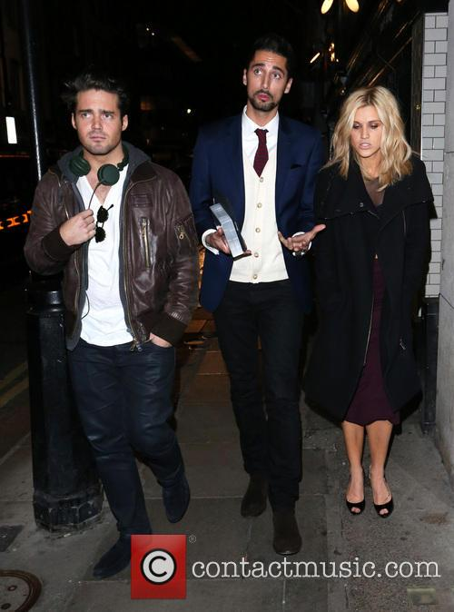Spencer Matthews, Hugo Taylor and Ashley Roberts 11