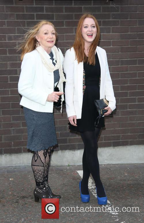 Mother and Olivia Hallinan 3