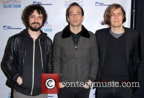 Fabrizio Moretti, Nikolai Fraiture and Albert Hammond Jr