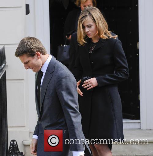 Mark and Sarah Jane Thatcher leave for Margaret...