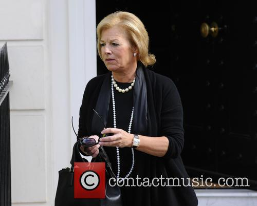 Carol Thatcher departs her late mother Margaret Thatcher's...