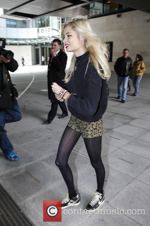 Nina Nesbitt arrives at the BBC Radio 2...