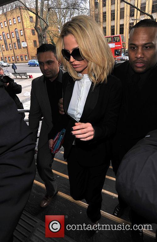 Sarah Harding at Highbury Magistrates