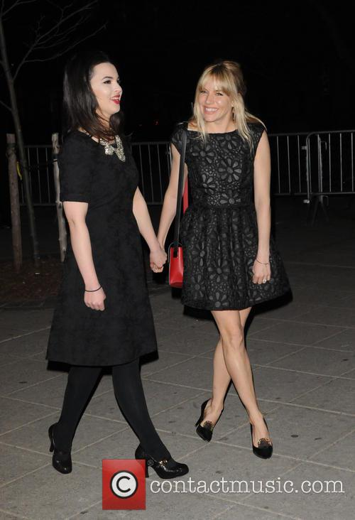 Matilda Sturridge and Sienna Miller 1