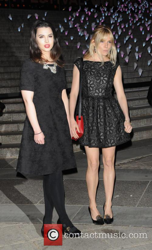 Matilda Sturridge and Sienna Miller 2