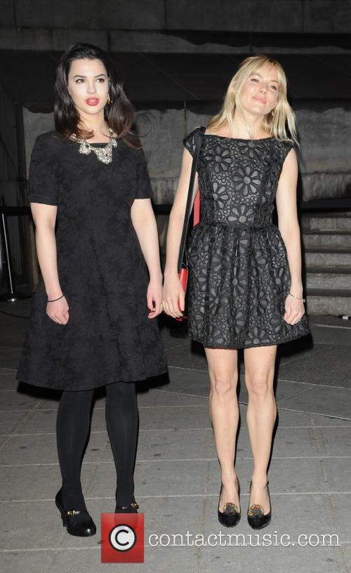 Matilda Sturridge and Sienna Miller 4