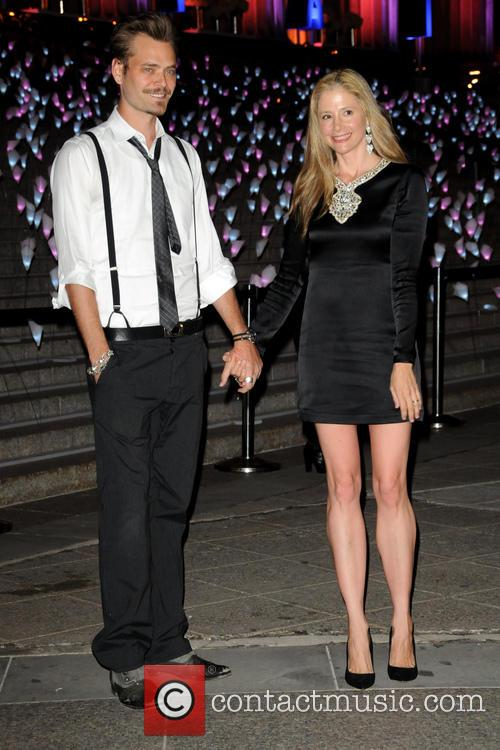 Mira Sorvino and Christopher Backus 1