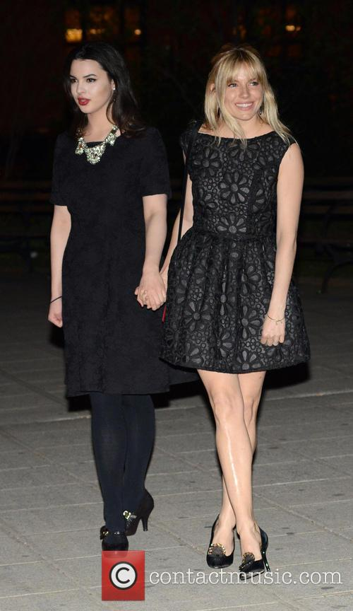 Sienna Miller and Matilda Sturridge 4