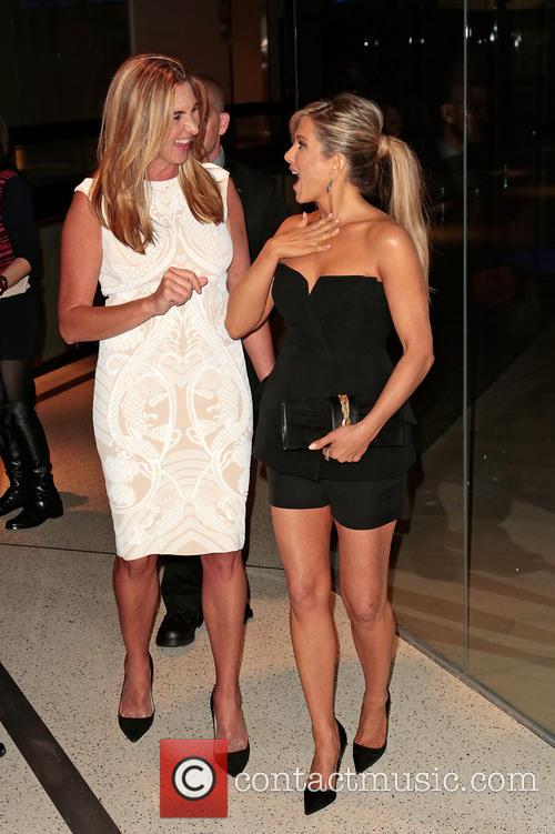 Nancy Dubuc and Jennifer Aniston 2
