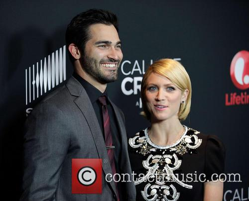 Tyler Hoechlin, Brittany Snow, Pacific Design Center Silver Screen Theater