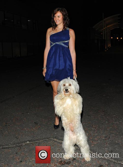 Ashleigh Butler and Pudsey 5