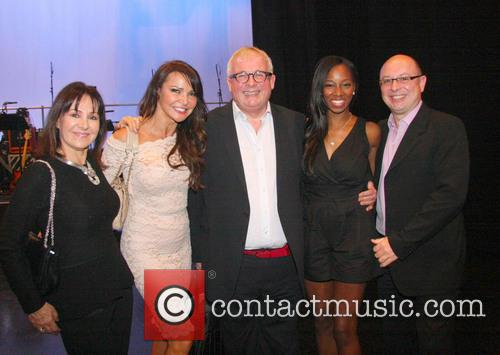 Lorraine Kelly, Lizzie Cundy, Christopher Biggins, Jamelia and Guest 3