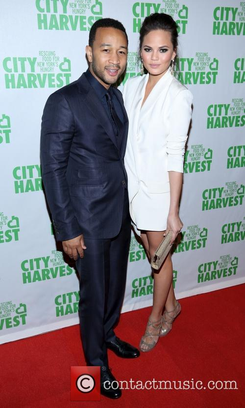 christine teigen john legend the 19th annual city 3610185