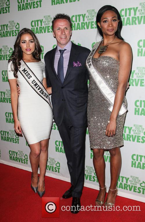 Olivia Culpo, Marc Murphy and Nana Meriwether 7