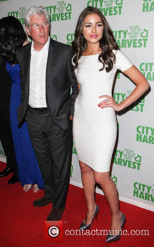 Rachard Gere and Olivia Culpo 2