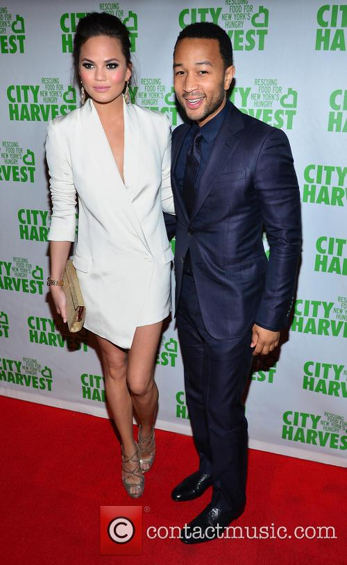 Christine Teigen and John Legend 6