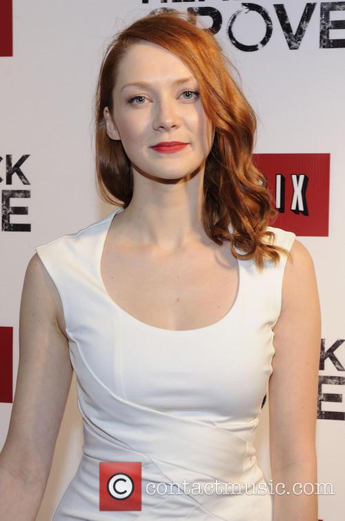 Ashleigh Harrington - Hemlock Grove actress at Toronto premiere