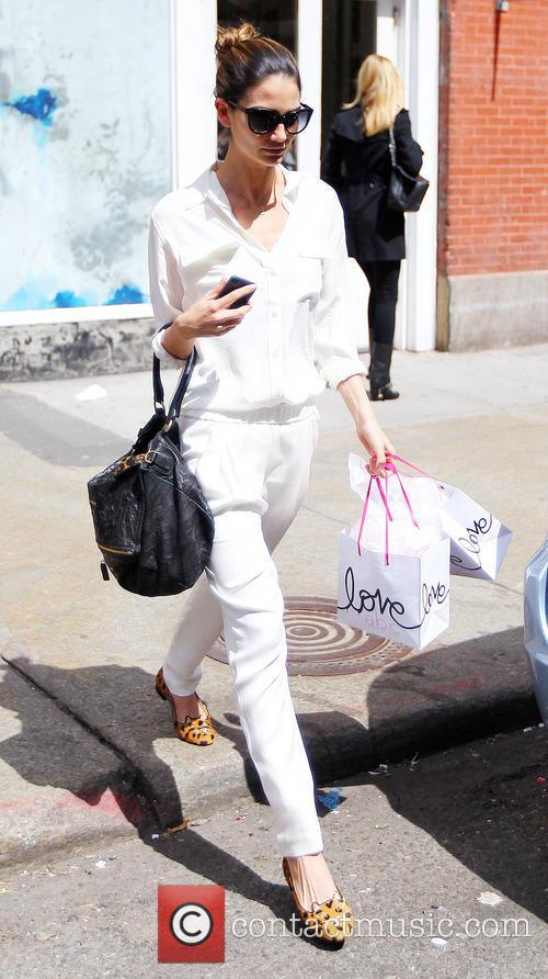Lily Aldridge leaving ABC Kitchen