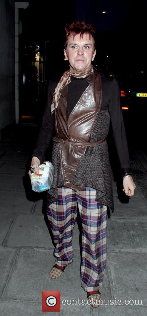 Steve Strange at 2013 OK! Magazine party