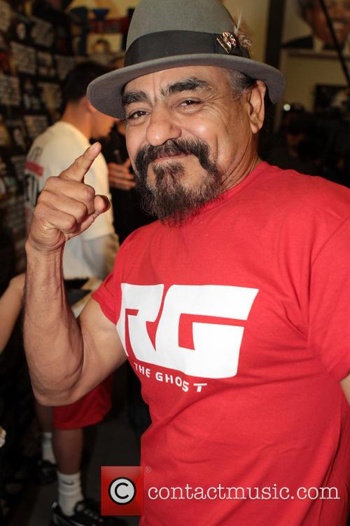 Las Vegas and Rubin Guerrero Father/trainer 11