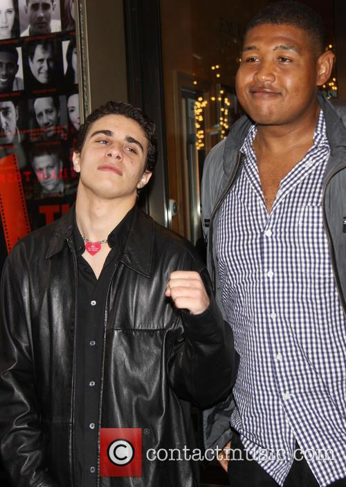 Jake Cannavale and Omar Miller 2