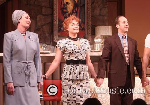 Brenda Wehle, Ana Reeder and Joey Slotnick
