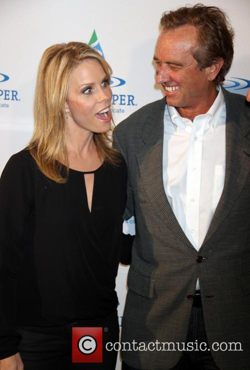 Cheryl Hines and Robert Kennedy Jr 1