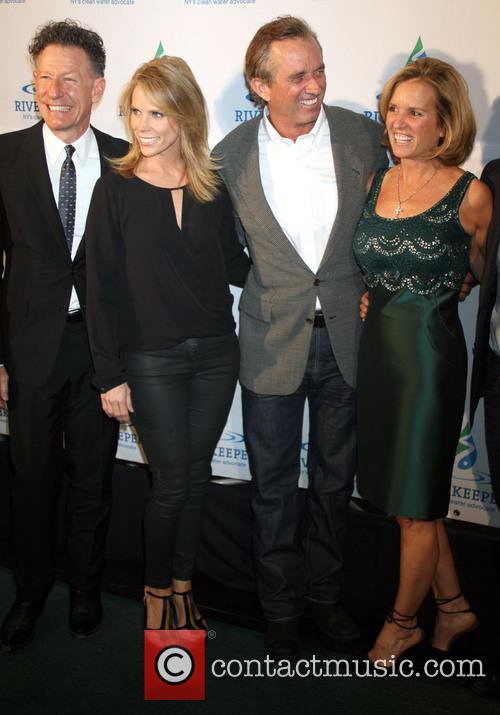 Lyle Lovett, Cheryl Hines, Robert Kennedy Jr and Kerry Kennedy 1