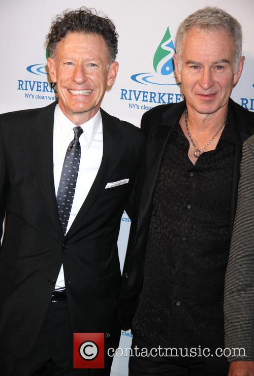 Lyle Lovett and John Mcenroe 4