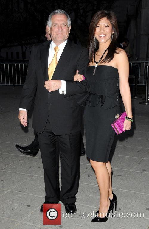 Les Moonves and Julie Chen 10