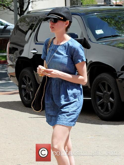 Anne Hathaway, Saks Fifth Avenue