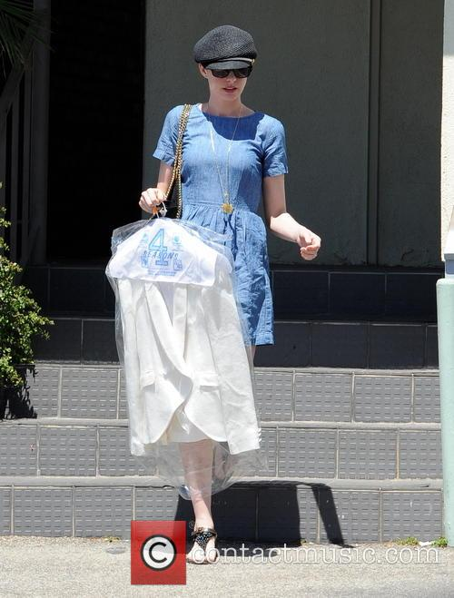 Anne Hathaway, Saks Fifth Avenue