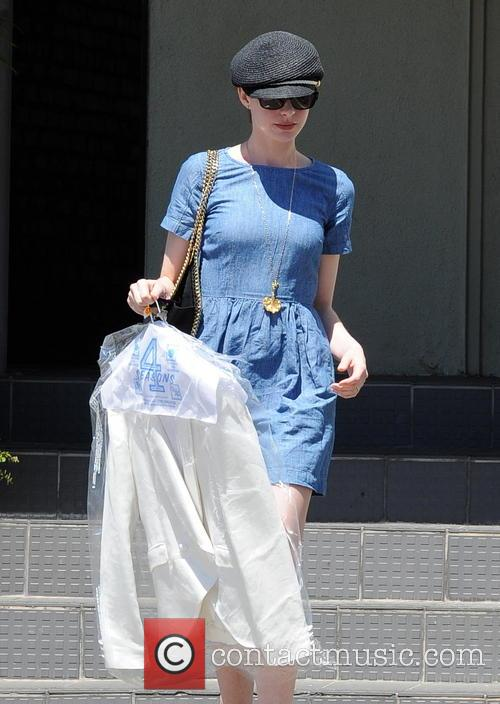 anne hathaway actress anne hathaway is seen 3612350